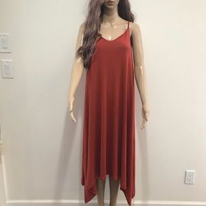 NWT Rachel zoe asymmetrical maxi dress